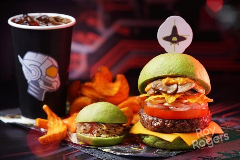 美式连锁快餐界的新星 迪士尼漫威汉堡震撼来袭!