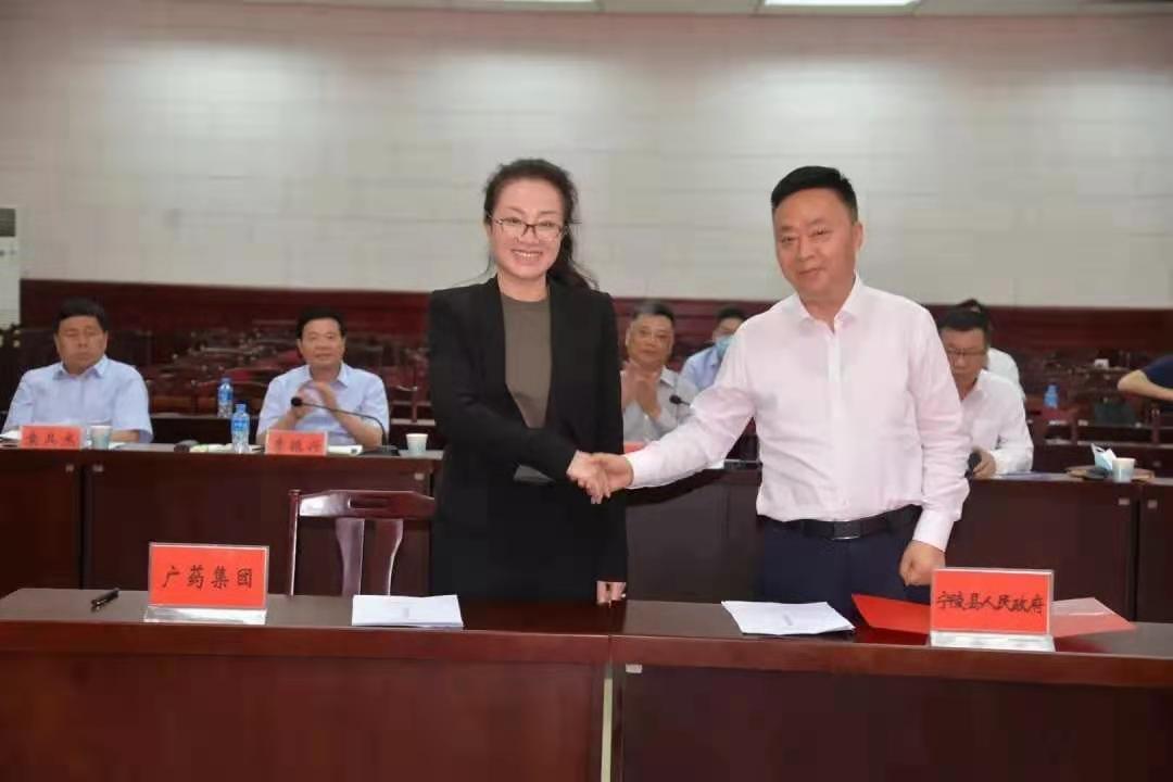 广药集团携手宁陵县打造产业帮扶及乡村振兴全产业链条