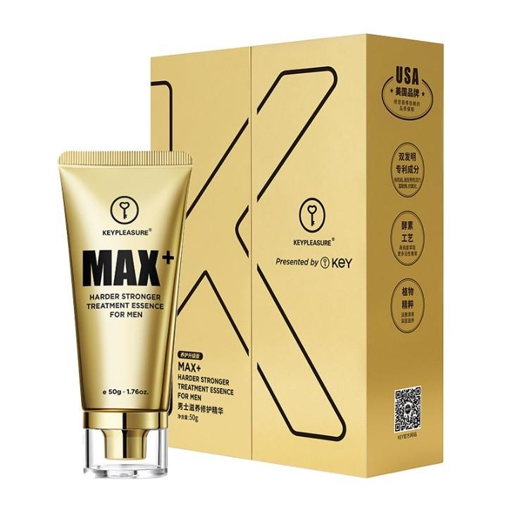 男士情趣私护方案新主张:KEY小黑瓶外用延时喷剂+KEY黄金增大膏