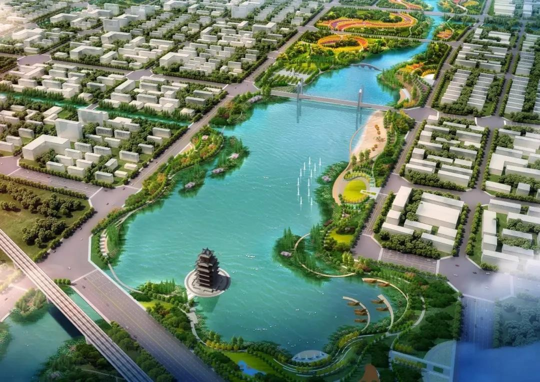 东方园林多举措治理民权县水系生态,提升市民生活幸福感