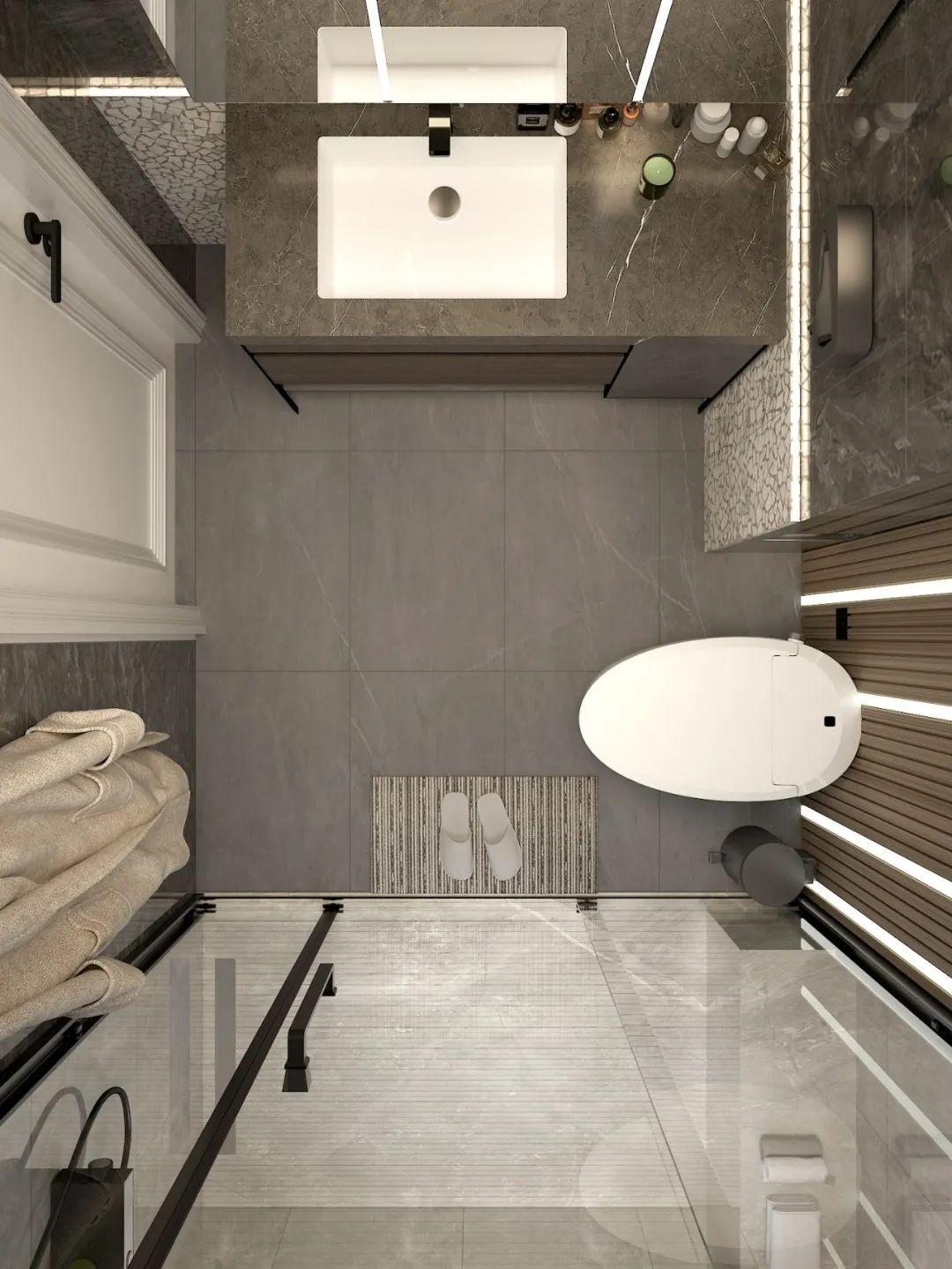 欧路莎卫浴:侘寂风浴室带给你不一样的家