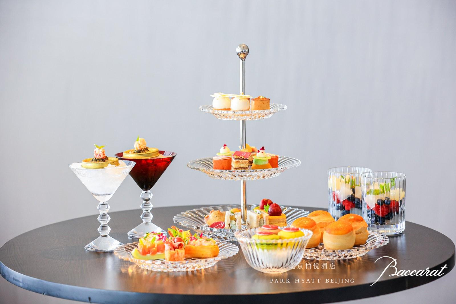 北京柏悦酒店携手巴卡拉BACCARAT推出悦·璨水晶艺术下午茶