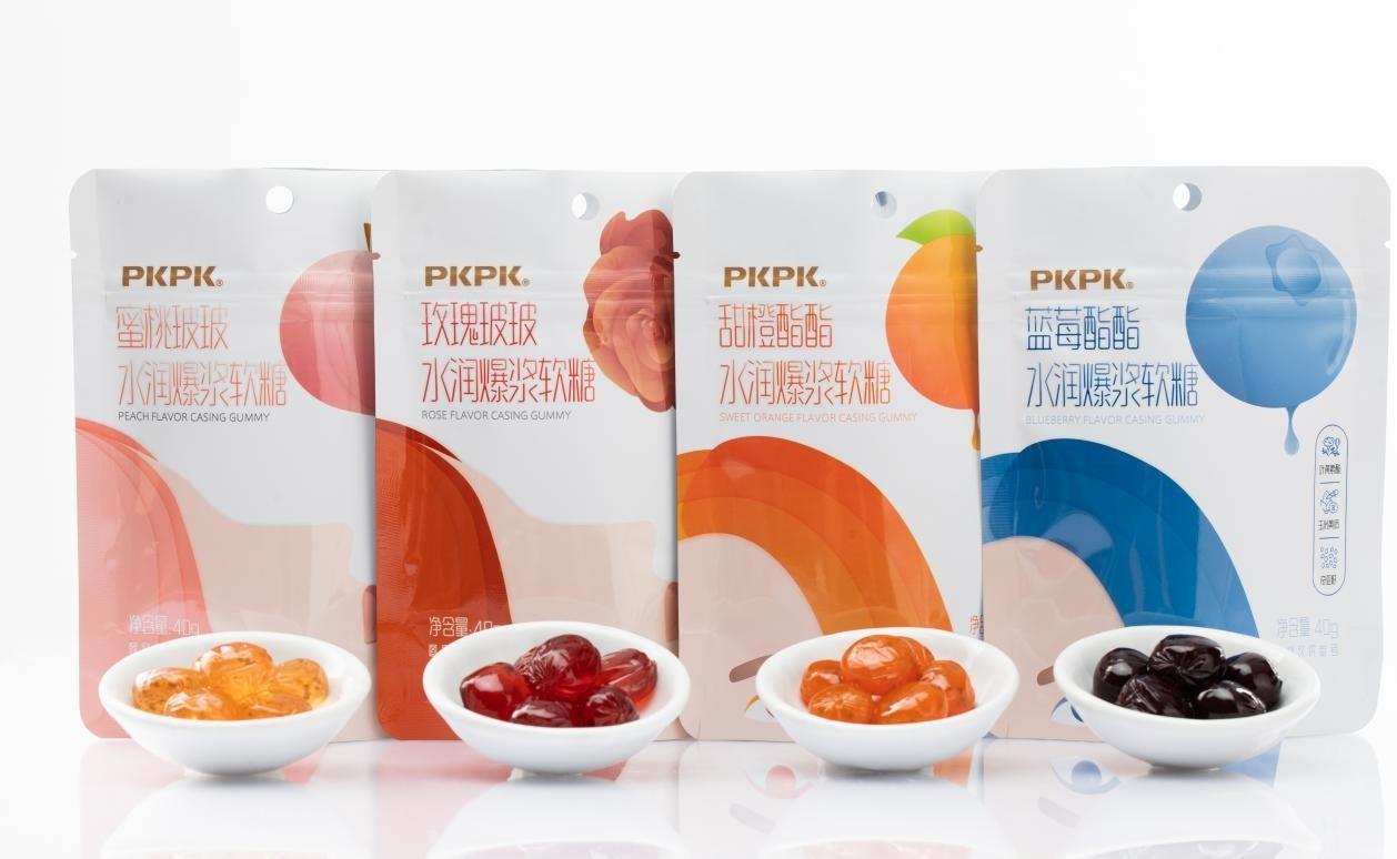 """颜值经济下,PKPK水润爆浆软糖如何做到""""内外兼修""""?"""